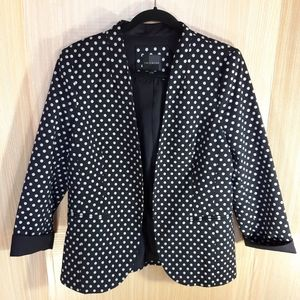 The Limited polka dot blazer. Large